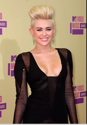 Miley Cyrus And Her Hair