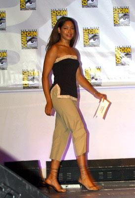 Gina Torres Serenity panel 2004 San Diego Comic-Con International - 7/25/2004