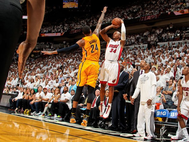 ray allen�s shooting struggles against the indiana pacers