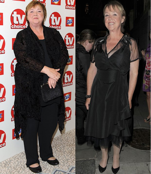 Pauline Quirke weight loss: Pauline lost an impressive eight stone this year and is all smiles following her success. Her slimming mission started when she signed up to the Lighter Life weight loss pl