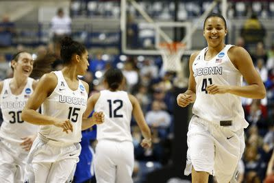 UConn women's hoops is like Godzilla with rocket launchers strapped to its arms