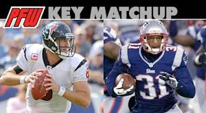 Key matchup: Texans passing game vs. Patriots pass 'D'