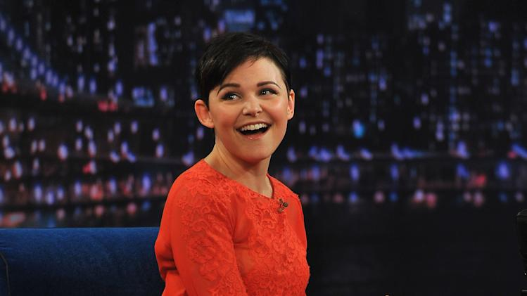 "Ginnifer Goodwin Visits ""Late Night With Jimmy Fallon"""