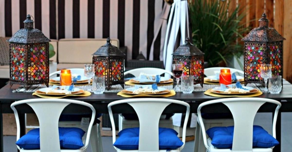 Modern Moroccan Dinner Party With Pier 1 Imports