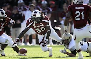No. 12 South Carolina takes 24-7 win over Wofford