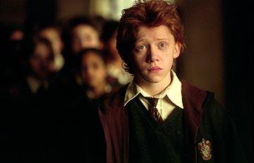 Rupert Grint as Ronald Weasley in Warner Bros. Harry Potter and the Prisoner of Azkaban