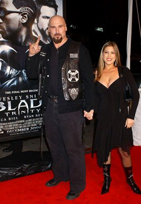 Andrew Bryniarski at the Hollywood premiere of New Line Cinema's Blade: Trinity