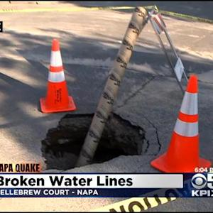 Hundreds In Napa Remain Without Water After Quake, New Leaks Found