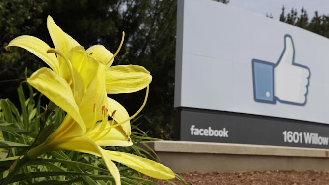 Exterior view of Facebook headquarters in Menlo Park, Calif., Wednesday, May 2, 2012. Facebook will go public on May 18, a Wall Street Journal report says, in one of the most highly anticipated tech initial public offerings since Google went public in August 2004. (AP Photo/Paul Sakuma)