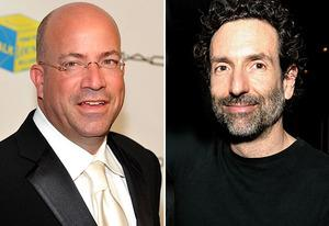 Jeff Zucker, Gavin Polone | Photo Credits: Mike Coppola/Getty Images; Kevin Winter/Getty Images