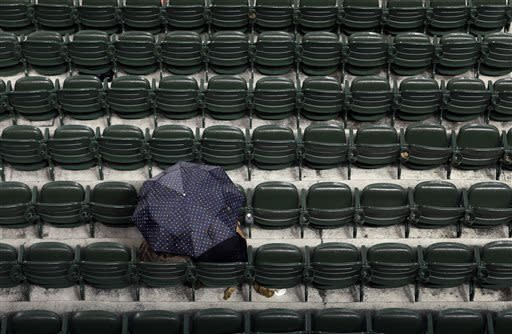 Dodgers-Orioles game postponed by rain