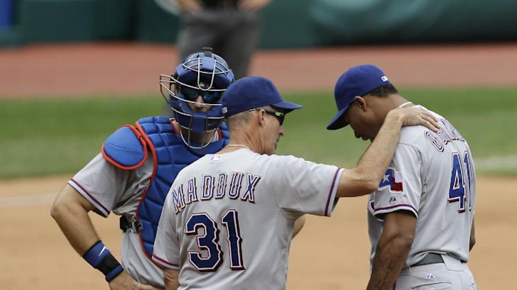 Jimenez shuts down Rangers in 6-0 win