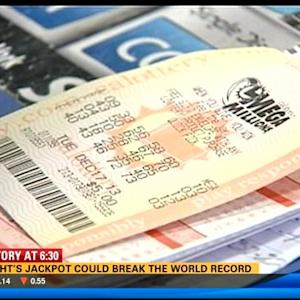 Tuesday's jackpot could break the world record