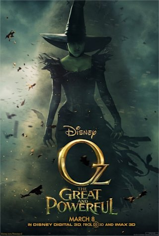 The new poster for 'Oz The Great and Powerful' -- Walt Disney Studios