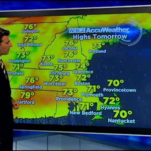 WBZ AccuWeather Afternoon Forecast For August 20
