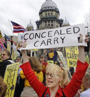 Court ruling on Ill. gun ban sets stage for fight