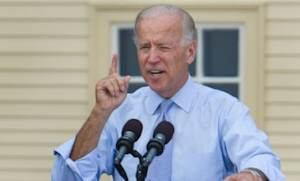 """Vice President Joe Biden speaks at a campaign event on Sept. 7 in Portsmouth, N.H.: Biden might be able to outdo Ryan if he calls the congressman out on his budget math, and brings up the """"untruths"""" that Mitt Romney put forth at the first presidential debate."""