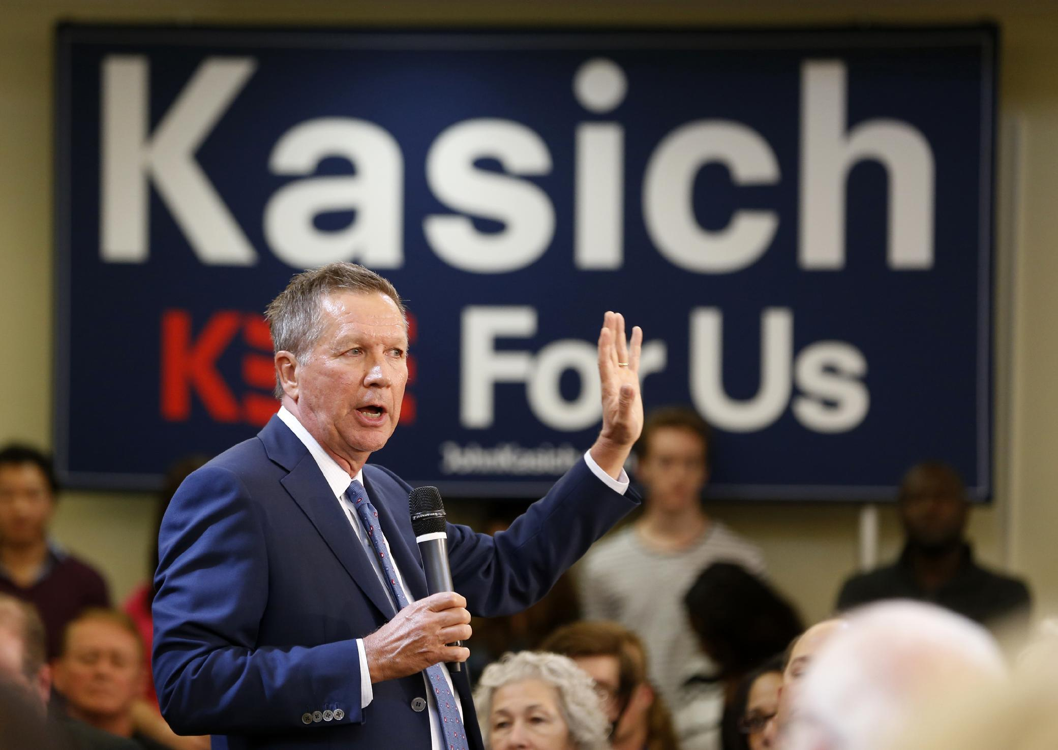 Republican Gov. John Kasich says he's a 'troublemaker'