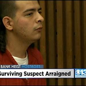 UPDATE: Stockton Bank Robbery Suspect Arraigned On 35 Criminal Charges