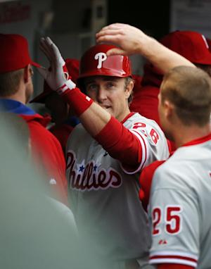 Utley leads Phillies past Cubs in Wrigley opener