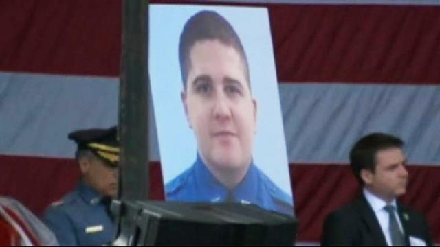 Last goodbye to MIT officer killed