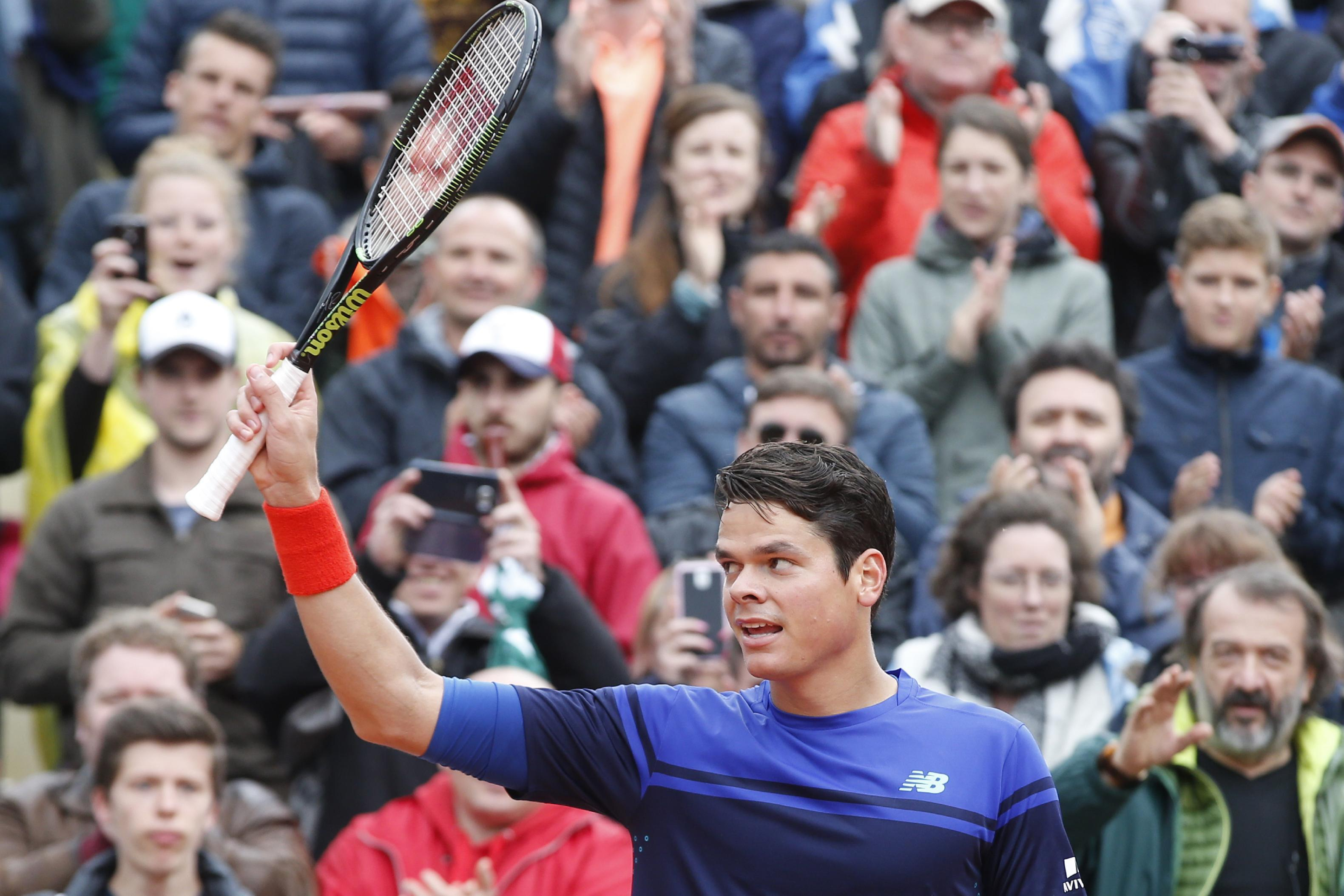 French Open Lookahead: Raonic's serve could be 'painful'