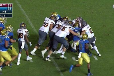 Arizona State dragged UCLA's defense into end zone for game-sealing TD