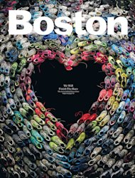 Boston Magazine's Heart-Shaped Shoes: The Story Behind the Beautiful Cover