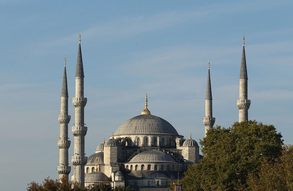 Blue Mosque in Istanbul, Turkey