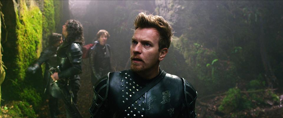"This film image released by Warner Bros. Pictures shows Ewan McGregor in a scene from ""Jack the Giant Slayer."" (AP Photo/Warner Bros. Pictures)"