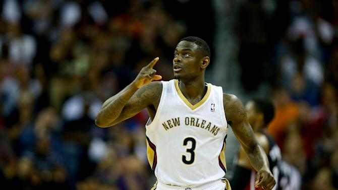 NBA: Miami Heat at New Orleans Pelicans