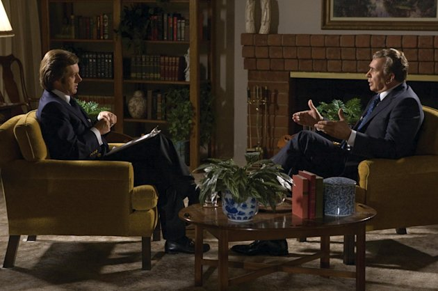 Michael Sheen Frank Langella Frost/Nixon Production Stills Universal 2008