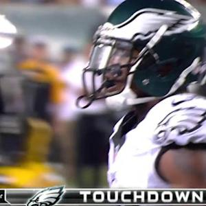 Philadelphia Eagles running back Matthew Tucker's 2nd TD run