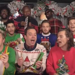 One Direction Sings 'Santa Claus Is Coming to Town' on Fallon