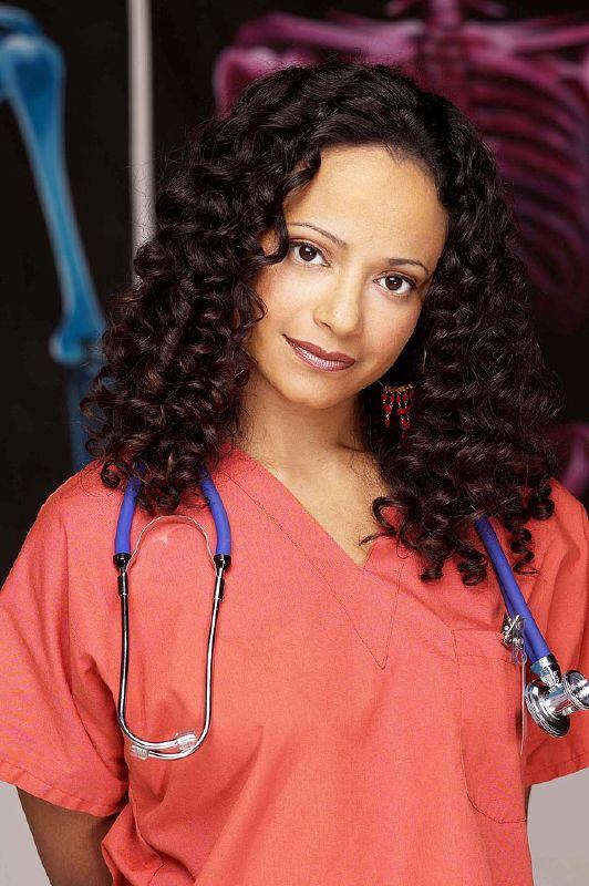 Judy Reyes as Carla Espinosa on NBC's Scrubs.