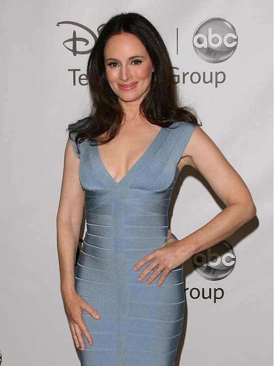 Madeleine Stowe of &quot;Revenge&quot; attends the Disney ABC Televison Group's 'TCA 2001 Summer Press Tour' at the Beverly Hilton Hotel on August 7, 2011 in Beverly Hills, California. 