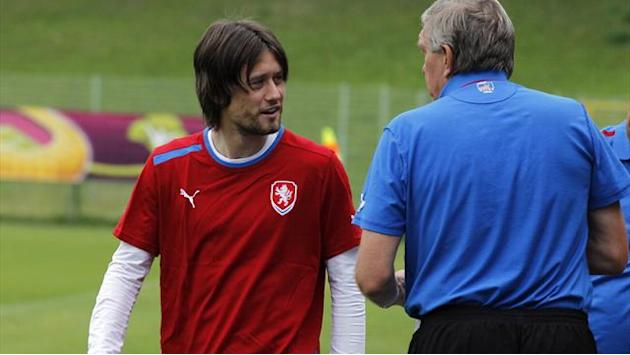 No start for Rosicky