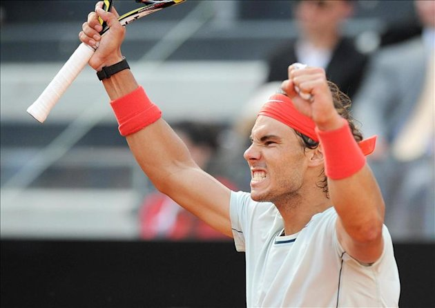 Nadal acaba con Berdych y se planta en su octava final en Roma