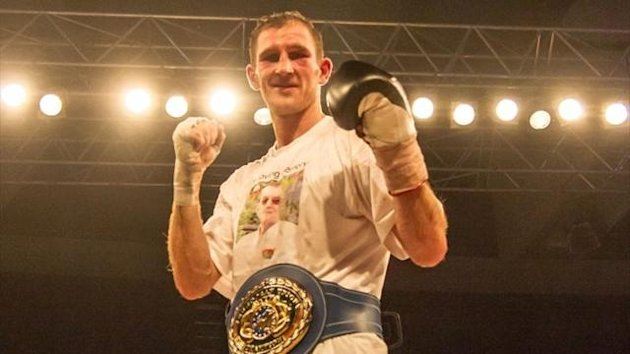 Boxer Lenny Daws (photo: Neill Hamersley)