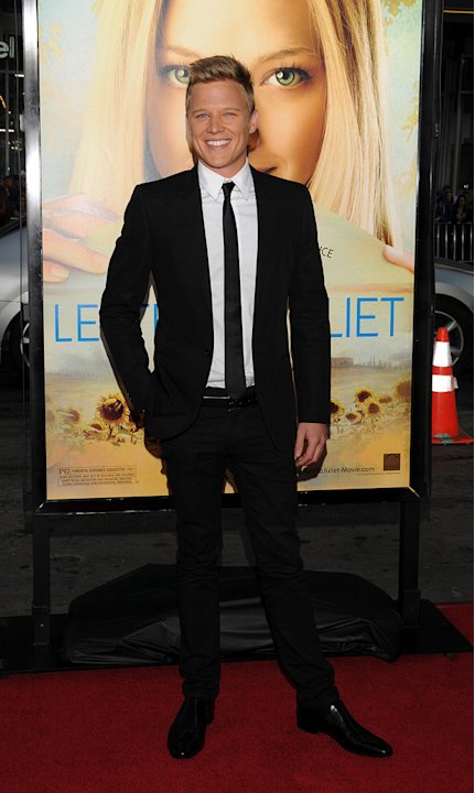 Letters to Juliet LA Premiere 2010 Christopher Egan