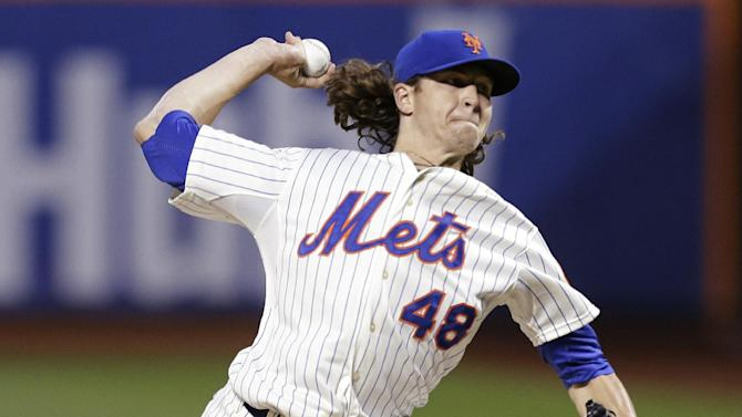 DeGrom pitches 3-hit ball for 8; Mets beat Rockies