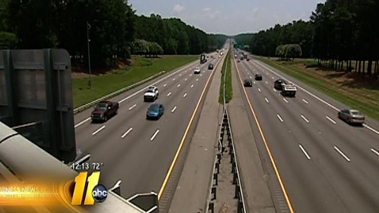 NC House looks at raising speed limit to 75 mph