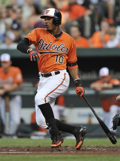 Davis hits 2 HRs as Orioles pound Yankees 11-3