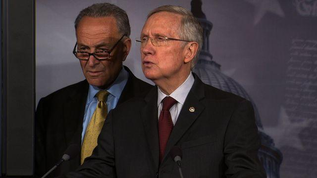 """Reid to Boehner: """"Stop trying to force a government shutdown"""""""
