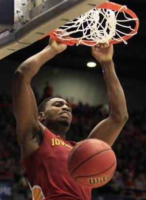 Iowa State rolls to 76-58 win over Notre Dame