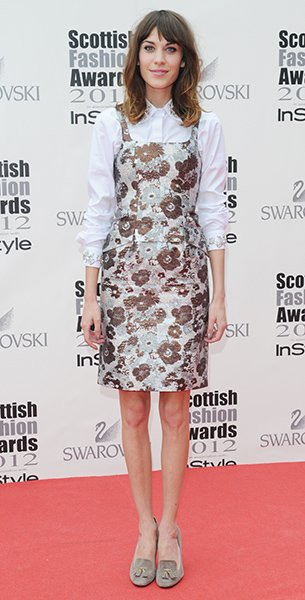 Attending the 2012 Scottish Fashion Awards