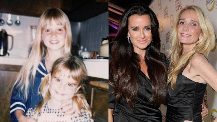 Kyle Richards and Kim Richards