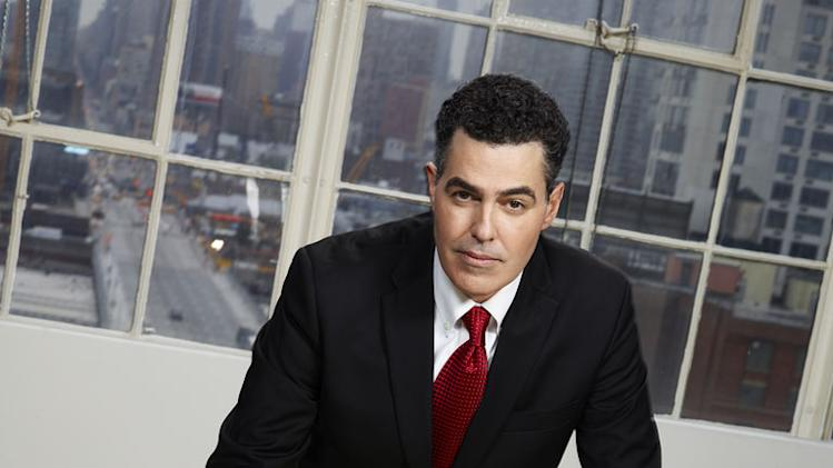 "Adam Carolla competes in the 12th season of ""The Celebrity Apprentice."""