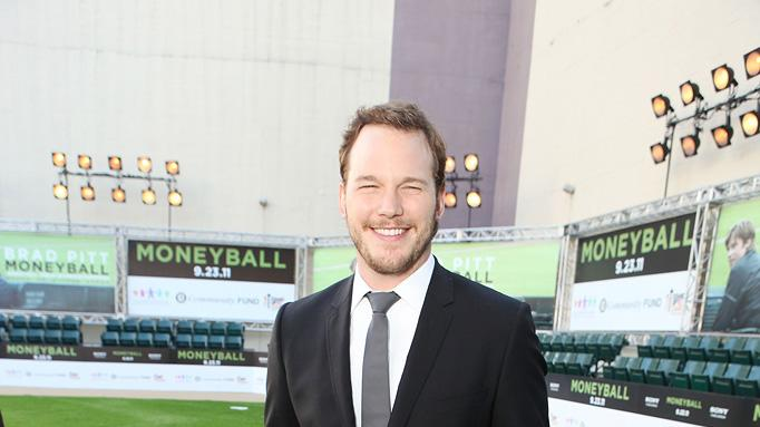 Moneyball Oakland premiere 2011 Chris Pratt