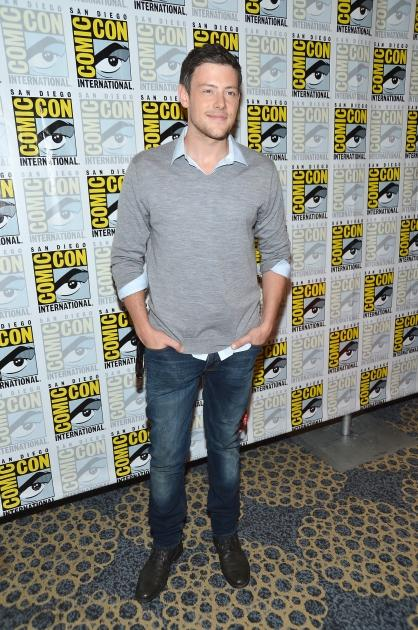 Cory Monteith attends the 'Glee' Press Room during Comic-Con 2012 in San Diego on July 14, 2012 -- Getty Images